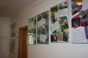 Výstava dobrovolnic z EVS